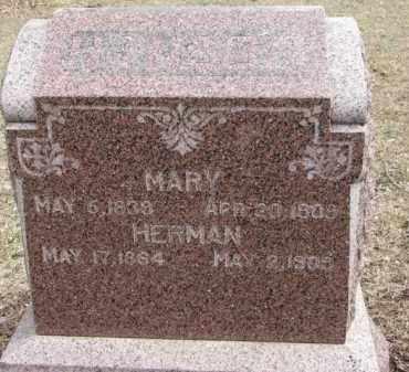 HANSON, MARY - Dixon County, Nebraska | MARY HANSON - Nebraska Gravestone Photos