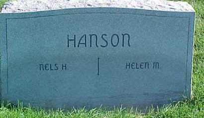 HANSON, NELS H. - Dixon County, Nebraska | NELS H. HANSON - Nebraska Gravestone Photos