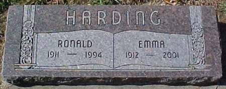 HARDING, EMMA - Dixon County, Nebraska | EMMA HARDING - Nebraska Gravestone Photos