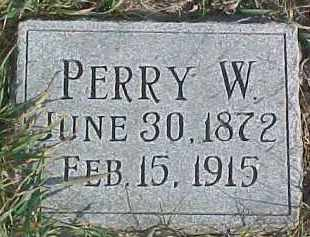 HARPER, PERRY W. - Dixon County, Nebraska | PERRY W. HARPER - Nebraska Gravestone Photos