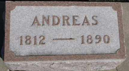 HARRIGFELD, ANDREAS - Dixon County, Nebraska | ANDREAS HARRIGFELD - Nebraska Gravestone Photos