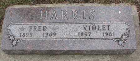 HARRIS, FRED - Dixon County, Nebraska   FRED HARRIS - Nebraska Gravestone Photos