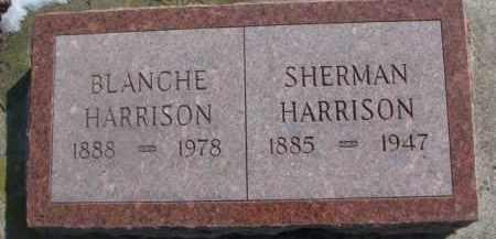 HARRISON, SHERMAN - Dixon County, Nebraska   SHERMAN HARRISON - Nebraska Gravestone Photos