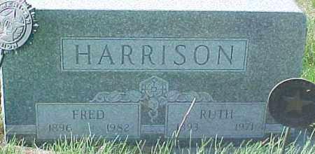 HARRISON, RUTH - Dixon County, Nebraska | RUTH HARRISON - Nebraska Gravestone Photos