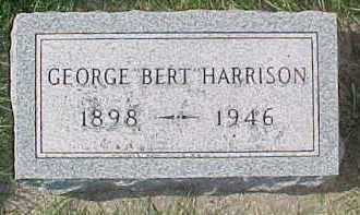 "HARRISON, GEORGE ""BERT"" - Dixon County, Nebraska   GEORGE ""BERT"" HARRISON - Nebraska Gravestone Photos"