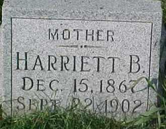HARRISON, HARRIETT B. - Dixon County, Nebraska | HARRIETT B. HARRISON - Nebraska Gravestone Photos