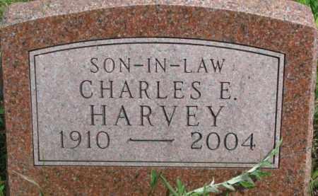 HARVEY, CHARLES E. - Dixon County, Nebraska   CHARLES E. HARVEY - Nebraska Gravestone Photos