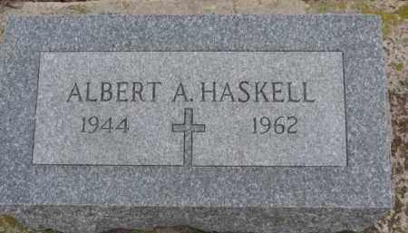 HASKELL, ALBERT A. - Dixon County, Nebraska | ALBERT A. HASKELL - Nebraska Gravestone Photos