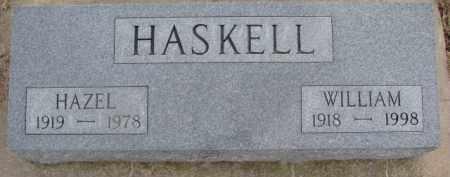 HASKELL, WILLIAM - Dixon County, Nebraska   WILLIAM HASKELL - Nebraska Gravestone Photos