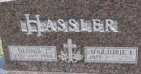 HASSLER, MARJORIE ILENE - Dixon County, Nebraska | MARJORIE ILENE HASSLER - Nebraska Gravestone Photos