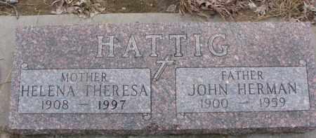 HATTIG, HELENA THERESA - Dixon County, Nebraska   HELENA THERESA HATTIG - Nebraska Gravestone Photos