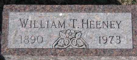 HEENEY, WILLIAM T. - Dixon County, Nebraska | WILLIAM T. HEENEY - Nebraska Gravestone Photos