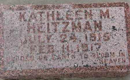 HEITZMAN, KATHLEEN M. - Dixon County, Nebraska   KATHLEEN M. HEITZMAN - Nebraska Gravestone Photos