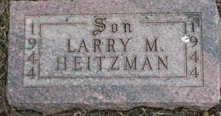 HEITZMAN, LARRY M. - Dixon County, Nebraska | LARRY M. HEITZMAN - Nebraska Gravestone Photos