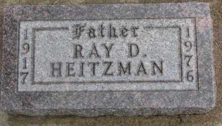 HEITZMAN, RAY D. - Dixon County, Nebraska   RAY D. HEITZMAN - Nebraska Gravestone Photos