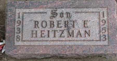 HEITZMAN, ROBERT E. - Dixon County, Nebraska | ROBERT E. HEITZMAN - Nebraska Gravestone Photos