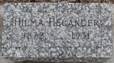 HELANDER, HILMA - Dixon County, Nebraska | HILMA HELANDER - Nebraska Gravestone Photos