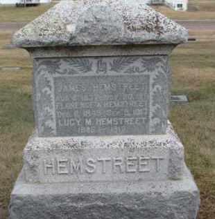 HEMSTREET, JAMES - Dixon County, Nebraska | JAMES HEMSTREET - Nebraska Gravestone Photos