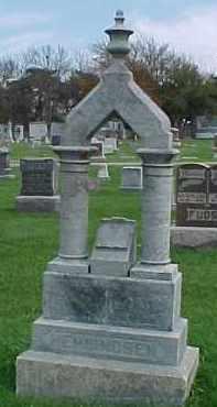 HENNINGSEN, MARY - Dixon County, Nebraska | MARY HENNINGSEN - Nebraska Gravestone Photos