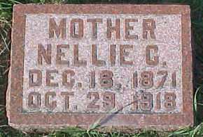 COLLINS HENRY, NELLIE C. - Dixon County, Nebraska   NELLIE C. COLLINS HENRY - Nebraska Gravestone Photos