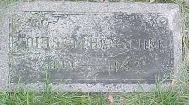 HENSCHKE, LOUISE MARIE - Dixon County, Nebraska | LOUISE MARIE HENSCHKE - Nebraska Gravestone Photos