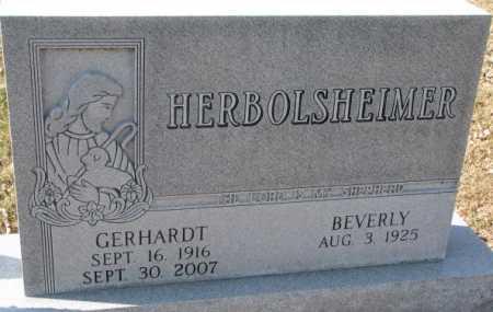 HERBOLSHEIMER, BEVERLY - Dixon County, Nebraska   BEVERLY HERBOLSHEIMER - Nebraska Gravestone Photos