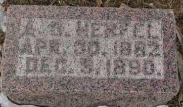 HERFEL, A.G. - Dixon County, Nebraska | A.G. HERFEL - Nebraska Gravestone Photos