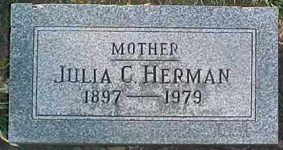 HERMAN, JULIA C. - Dixon County, Nebraska | JULIA C. HERMAN - Nebraska Gravestone Photos