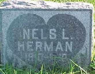 HERMAN, NELS L. - Dixon County, Nebraska | NELS L. HERMAN - Nebraska Gravestone Photos