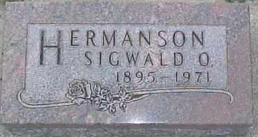 HERMANSON, SIGWALD O. - Dixon County, Nebraska | SIGWALD O. HERMANSON - Nebraska Gravestone Photos