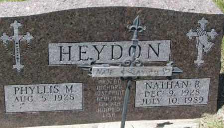 HEYDON, SANDY - Dixon County, Nebraska | SANDY HEYDON - Nebraska Gravestone Photos