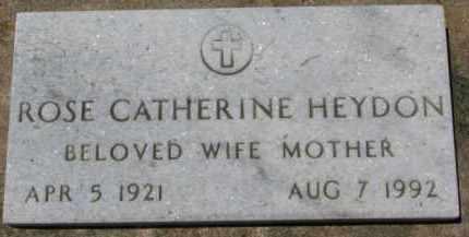 HEYDON, ROSE CATHERINE - Dixon County, Nebraska | ROSE CATHERINE HEYDON - Nebraska Gravestone Photos