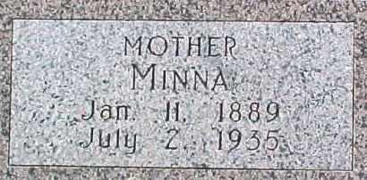 HILKE, MINNA - Dixon County, Nebraska   MINNA HILKE - Nebraska Gravestone Photos