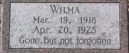 HILKE, WILMA - Dixon County, Nebraska   WILMA HILKE - Nebraska Gravestone Photos