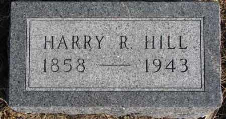 HILL, HARRY R. - Dixon County, Nebraska | HARRY R. HILL - Nebraska Gravestone Photos