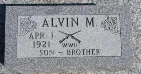 HINGST, ALVIN M. - Dixon County, Nebraska | ALVIN M. HINGST - Nebraska Gravestone Photos