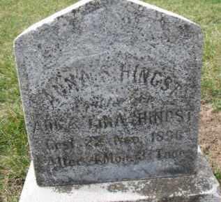 HINGST, ANNA S. - Dixon County, Nebraska   ANNA S. HINGST - Nebraska Gravestone Photos