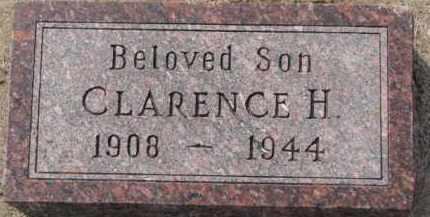 HINGST, CLARENCE H. - Dixon County, Nebraska | CLARENCE H. HINGST - Nebraska Gravestone Photos