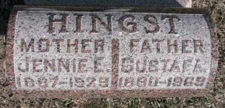HINGST, GUSTAF A. - Dixon County, Nebraska | GUSTAF A. HINGST - Nebraska Gravestone Photos