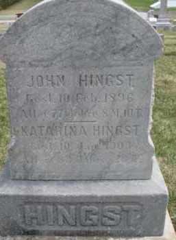 HINGST, KATARINA - Dixon County, Nebraska | KATARINA HINGST - Nebraska Gravestone Photos