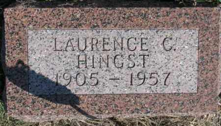 HINGST, LAURENCE C. - Dixon County, Nebraska | LAURENCE C. HINGST - Nebraska Gravestone Photos