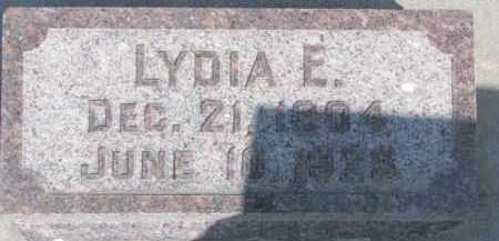 HINGST, LYDIA E. - Dixon County, Nebraska | LYDIA E. HINGST - Nebraska Gravestone Photos