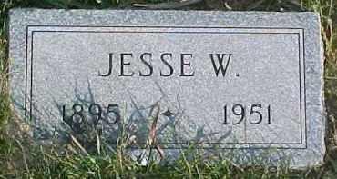 HINKEN, JESSIE W. - Dixon County, Nebraska | JESSIE W. HINKEN - Nebraska Gravestone Photos