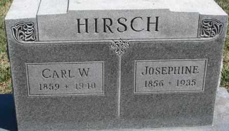 HIRSCH, CARL W. - Dixon County, Nebraska   CARL W. HIRSCH - Nebraska Gravestone Photos