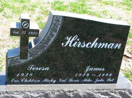 HIRSCHMAN, JAMES - Dixon County, Nebraska   JAMES HIRSCHMAN - Nebraska Gravestone Photos