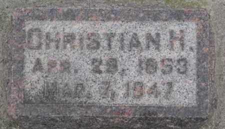 HOECK, CHRISTIAN H. - Dixon County, Nebraska   CHRISTIAN H. HOECK - Nebraska Gravestone Photos