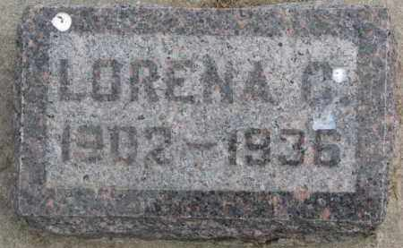 HOECK, LORENA C. - Dixon County, Nebraska | LORENA C. HOECK - Nebraska Gravestone Photos