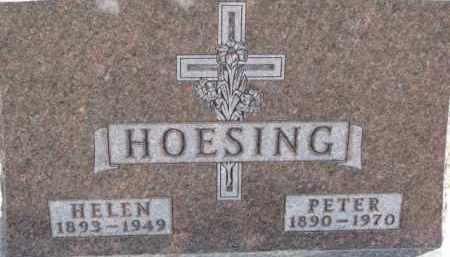 HOESING, HELEN - Dixon County, Nebraska   HELEN HOESING - Nebraska Gravestone Photos