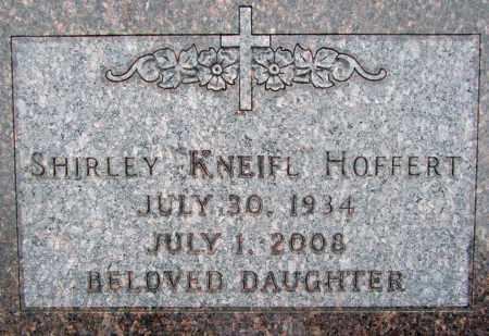 KNEIFL HOFFERT, SHIRLEY - Dixon County, Nebraska | SHIRLEY KNEIFL HOFFERT - Nebraska Gravestone Photos