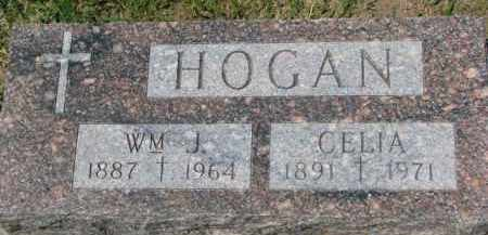 HOGAN, WM. J. - Dixon County, Nebraska | WM. J. HOGAN - Nebraska Gravestone Photos